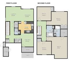 Create Floor Plans Online For Free With Large House Floor Plans - Home design plans online