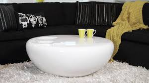 astonishing white coffee table living room decor ideas white throughout round high gloss coffee tables