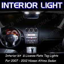 nissan altima 2012 interior. car interior kit whiteu0026plate lights for nissan altima sedan 20072012 led map dome door 2012