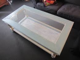 white glass top coffee table simple