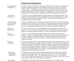 Summary In A Resume Example Template Entry Level Teacher Examples Of ...