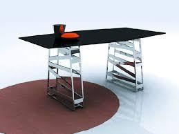 dining room table steel legs. classy stainless steel dining room table stunning interior designing ideas legs