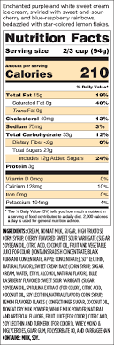 magical unicorn nutritional information