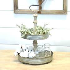 two tier wooden tray new galvanized two tiered stand the farmhouse tier wooden tray 2 wood