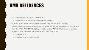 citation refresher ama references