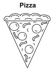 Disegni Da Stampare E Colorare Con La Pizza Fotogallery