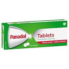 Panadol Original Pain Relief Paracetamol Tablets Panadol