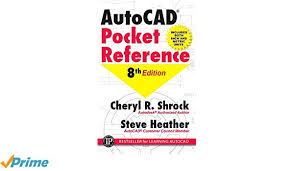 Autocad Kitchen Design Extraordinary AutoCAD Pocket Reference Cheryl R Shrock Steve Heather