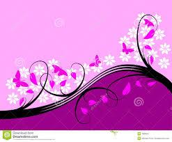 Purple Background Designs Purple Floral Background Design Stock Vector Illustration