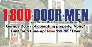 garage door tune up1800DOORMEN Your Garage Door Tuneup Service