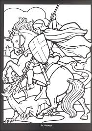 Small Picture Stained glass coloring pages knight on horse ColoringStar