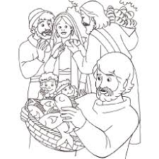 bible pictures for colouring. Simple Bible Jesus Feeding Of The 5000 From Bible Coloring Page On Pictures For Colouring