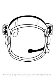 how to draw an astronaut s helmet