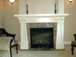 craftsman style fireplace surround mantle 1