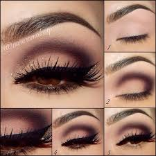 cute brown eye makeup pictorials
