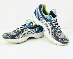 running shoes size 7 5 gray blue