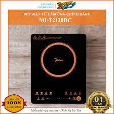 CHÍNH HÃNG] Bếp điện từ đơn MIDEA MI-T2120DC chính hãng (vthm9) tại Hà Nội