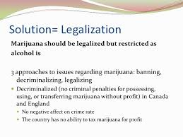 legalizing marijuana   million marijuana arrests 10 solution legalization marijuana should
