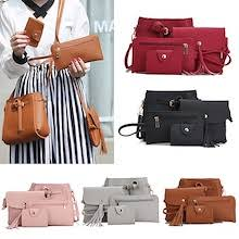 1 free 3 perfect korean 4 in 1 set leather handbag sling bag pouch set