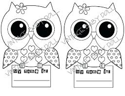Cute Owl Coloring Pages Free To Print Owls Halloween Printable Pag