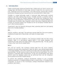 2white paperworking with informatica teradata parallel transporter 1 introduction todays growing data teradata etl tools