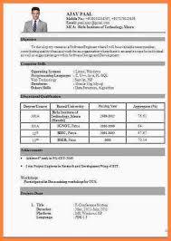 Resume Format Download Amazing 515 Perfect Design Resume Format Download Pdf Resume For Be Freshers
