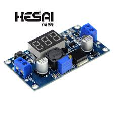 <b>LM2596 LM2596S</b> Power Module + LED Voltmeter <b>DC DC</b> ...