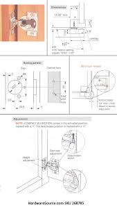 cabinet blum face mount pact hinge blumotion hardwaresource installation instructions here for information