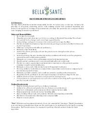 receptionist job description resume  resumereceptionist job description resume customer services