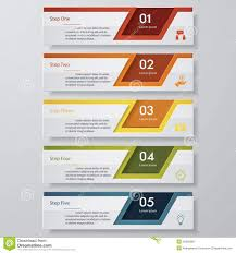 chart graphic design. 5 Steps Chart Template/graphic Or Website Layout. Stock Vector Within Table Graphic Design I
