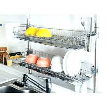 wall mount dish drying rack hanging dish drying rack image result for floating shelves and wooden