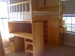 full size loft bed with desk and dresser by lala lumberjocks with regard to full size loft beds with desk