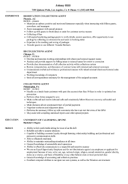 collection agent resume collections agent resume samples velvet jobs