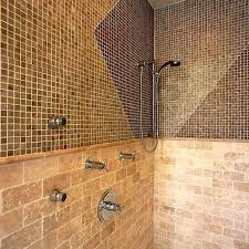 tiling a shower wall save tile shower wall floor transition