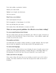 Cover Letters How To Define Cover Letter How To Define Also How To