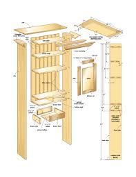 Bathroom Wall Cabinet Plans Bathroom Wall Cabinet Canadian Home Workshop