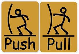 pull door sign. Beautiful Pull In Pull Door Sign L