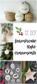 Christmas Decorations Diy Best 25 Diy Ornaments Ideas On Pinterest Diy Christmas