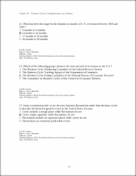 topic the business cycle chapter business cycles this preview has intentionally blurred sections sign up to view the full version