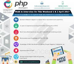 concept infoway pvt linkedin we re expanding our staff walk in for an interview this weekend jobs php developer ahmedabad call 91 9978931415