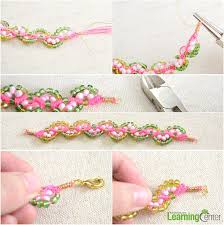 Braided Bracelet Patterns Unique How To Make Braided Bead Bracelet Easy Friendship Bracelet Pattern