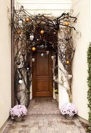 front door decor40 Cool Halloween Front Door Decor Ideas  DigsDigs