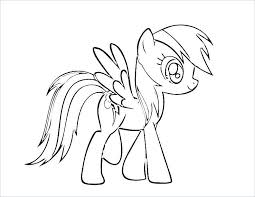 My Little Pony Coloring Pages Pdf Raovat24hinfo
