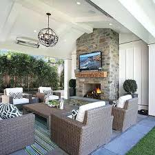 covered porch with fireplace covered patio vaulted ceiling with fireplace outdoor screened porch fireplace