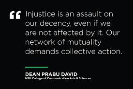 In a letter to our community, Dean Prabu... - Michigan State University  College of Communication Arts & Sciences | Facebook