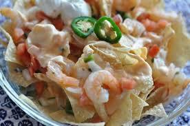 nachos with shrimp