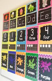 Decorating Room With Posters 17 Best Ideas About Preschool Classroom Decor On Pinterest