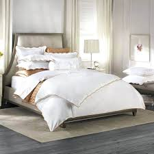 full image for barbara barry poetical duvet cover in cinder barbara barry peaceful pique luxe bed