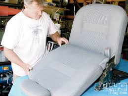replacement upholstery kit installed 2006 dodge ram 2500 truck seat