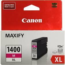 Оригинальный <b>картридж</b> Canon PGI-1400XL M (<b>пурпурный</b> ...